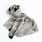 Châle d'étole estampé par laines Worsted de 100% (AHY30004132)