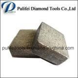 segmento del corte de la piedra de la dimensión de una variable del bloque de 2500m m 24*20*11.5/12.5m m