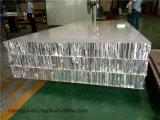 25mm 두꺼운 장식적인 알루미늄 벌집은 외부 벽 클래딩을%s 벌집 샌드위치 위원회를 깐다