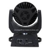36*15W RGBWA (1つのズームレンズの洗浄移動ヘッドライトに付き紫外線) 6つ