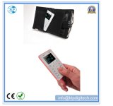 Colorful Cool 4.5mm Ultra mince M5 Mini téléphone portable Mini cadeau Enfant Basic Card Mobile Phone Wholesale