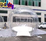 يخيّم فقاعات خيمة قابل للنفخ واضحة