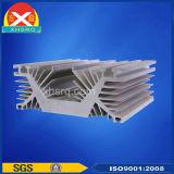 Het leiden vervaardiging Uitgedreven die Heatsink van Legering van het Aluminium 6063 wordt gemaakt