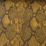 Het Leer van het Patroon Pu van de slang voor de Schoenen van Handtassen
