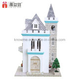 Brinquedo de madeira do Dollhouse DIY do enigma de Guangzhou 3D