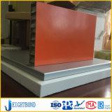 Aluminiumbienenwabe-zusammengesetztes Panel der China-Fabrik-PVDF für Hotel Decotation