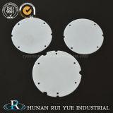 Carcaça fina cerâmica de isolamento da placa da alumina da pureza elevada para o diodo emissor de luz