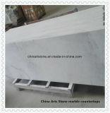 Marmeren Countertop van het Zinkwit voor Keuken en Badkamers
