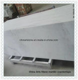 Bancada da cozinha e do banheiro do mármore do branco chinês