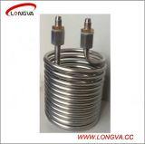 Bobine de refroidissement de tube d'acier inoxydable