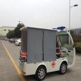 Mini ambulancia eléctrica de 4 asientos para el hospital