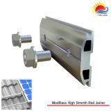 Carport solar de aluminio anodizado serie T5-6000 que monta el corchete de abrazadera del carril cruzado (318-0001)