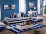 Muebles de madera del sofá de la tela de la sala de estar (HX-SL045)