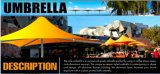 Deluxet Outdoor Sun Promotionnel Garden Umbrella