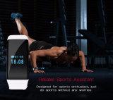 Iosの追跡者のブレスレット、振動の目覚し時計のリスト・ストラップと互換性がある心拍数のモニタのスマートなバンド