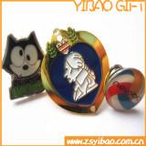 La médaille mignonne faite sur commande de broche d'insigne ouvre le cadeau (YB-HD-14)