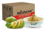 Pó vegetal da papaia natural com pureza elevada