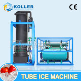 20 toneladas de máquina de hacer hielo del tubo cristalino a Nigeria (TV200)
