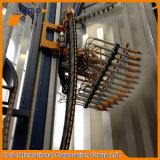 Linha de revestimento de alumínio vertical automática do pó do perfil