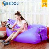 Sofa gonflable d'air de présidence de sac de couchage de loisirs de sac de configuration de Portable