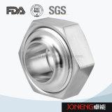 Pieza sanitaria del trazador de líneas del estruendo del acero inoxidable de la unión (JN-UN1001)