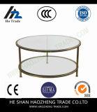 Première table basse Hzct166 de marbre ronde sèche