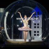 globo gonfiabile della neve di ballo del diametro di 3m