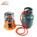Fogão de gás e calefator de gás para ao ar livre ou interno