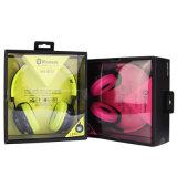 Auriculares estereofónicos de Bluetooth Bluetooth dos auscultadores sem fio de Byunite Hh-Bt-005 com o Mic para a música Warphone sem fio com luz do diodo emissor de luz