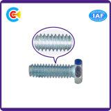 Parafusos galvanizados Steel/4.8/8.8/10.9 da flange do hexágono do carbono para o edifício