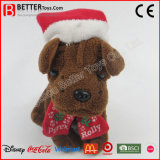 Chirstmas New Year Stuffed Plush Animal Dog Toy
