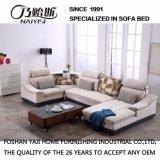 居間の家具- Fb1125のためのリネン高品質ファブリックが付いている現代デザイン部門別のソファー