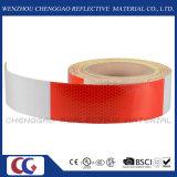 LKW-Lite-reflektierendes Markierungs-Band 2-Inchx 150 FT Rollen- in Rotem/im Weiß (C3500-B (D))