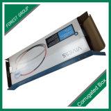 Impresión de empaquetado plegable del rectángulo de papel de la aduana del precio bajo