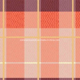 100%Polyester померанцовая шотландка Pigment&Disperse напечатала ткань для комплекта постельных принадлежностей