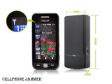 Портативный Jammer блокатора 3G сигнала мобильного телефона GSM