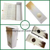 Boîte-cadeau de Coardboard pour le vin empaquetant avec le clinquant d'or Stampping