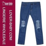 denim Jeans Fashion Trousers (L454) 찢긴 숙녀