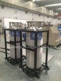 cylindre cryogénique industriel de vase Dewar d'isolation d'argon d'azote de l'oxygène 175L liquide