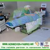 Ткань Nonwoven тканья PP Spunbond медицинская