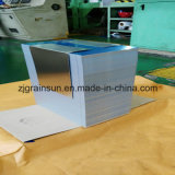 Лист почищенный щеткой оксидацией алюминиевый