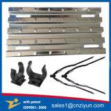 電流を通された金属の鋼鉄足場の板を反変形させなさい
