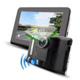 Navegador GPS e detector de radar e câmera de carro DVR