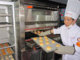 Doppelte Plattform-Luxuxdigitalanzeigen-intelligenter elektrischer Draht-Ofen mit Proofer