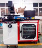 Maquinaria de alta velocidade do marcador do laser da placa de estanho