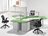 Hölzerner 4 Sitzteiler-linearer modularer Arbeitsplatz (SZ-WST658)