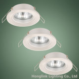 Downlight messo fisso di alluminio Kitting per la lampadina di MR16 o di GU10 Halogen/LED