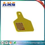 암호로 하기 방수 동물 UHF RFID 꼬리표 인쇄