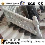 Guangxi weißen Marmorstein für Schienenniedrige Balusters anpassen