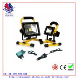 Ce RoHS Waterproof 5hrs Portable Rechargeable 20W LED Flood Light